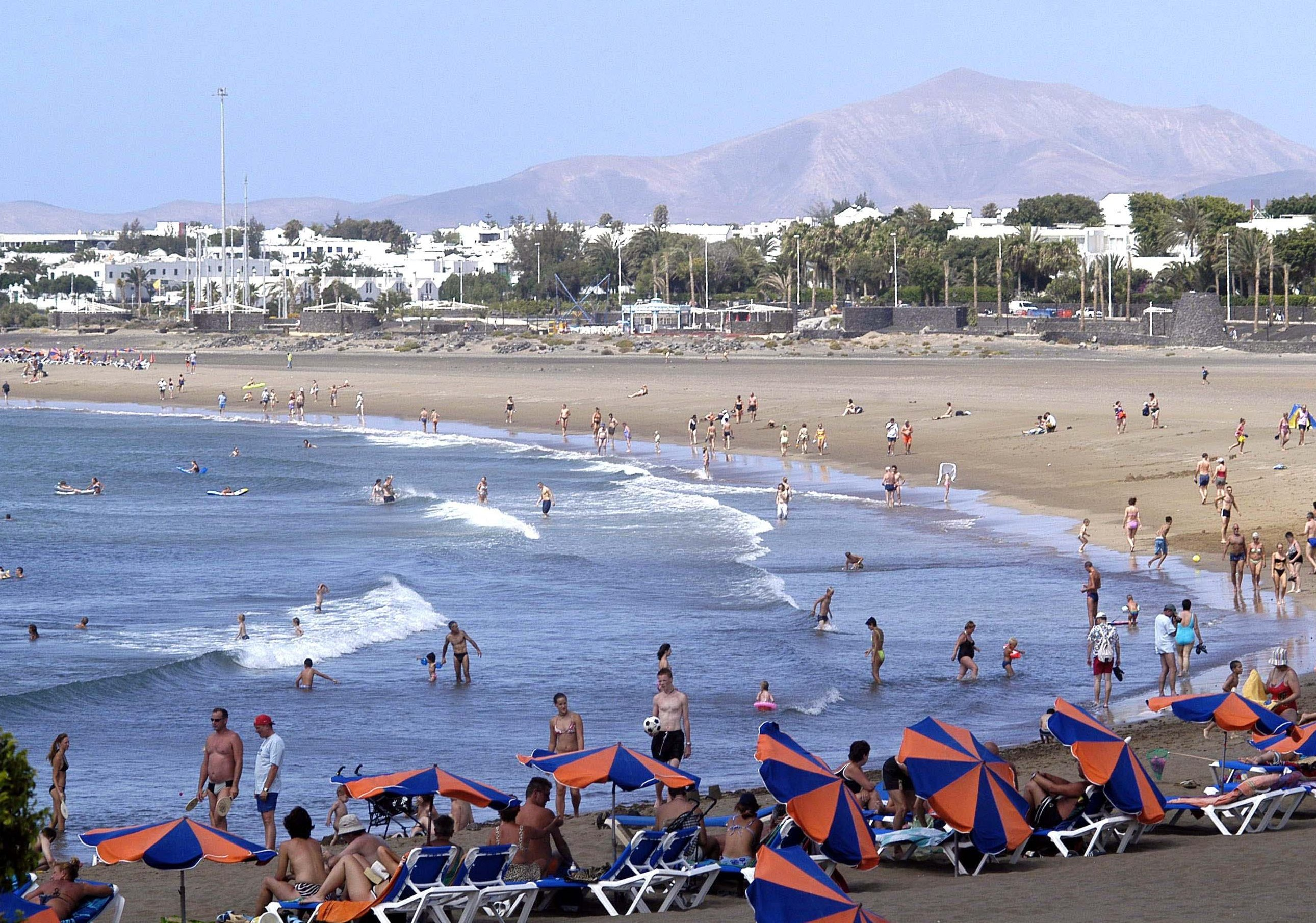 Wonderful beaches lanzarote