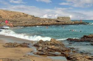 The beach Barranquillo