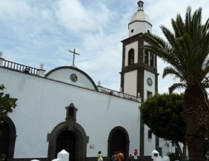 Acts and cults during the holy week in Arrecife-Lanzarote