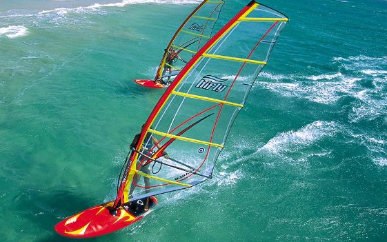 Windsurfing in Lanzarote